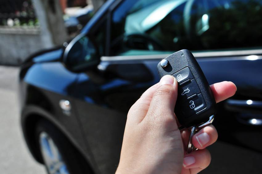 operation with car key